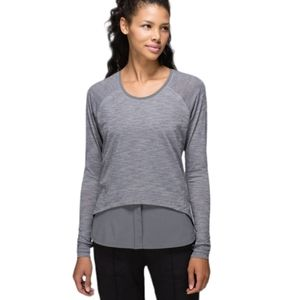 Lululemon Layered Long Sleeve Shirt